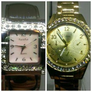 2 Watches Vivani and Peck & Peck